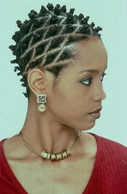Image result for natural hair bantu knots